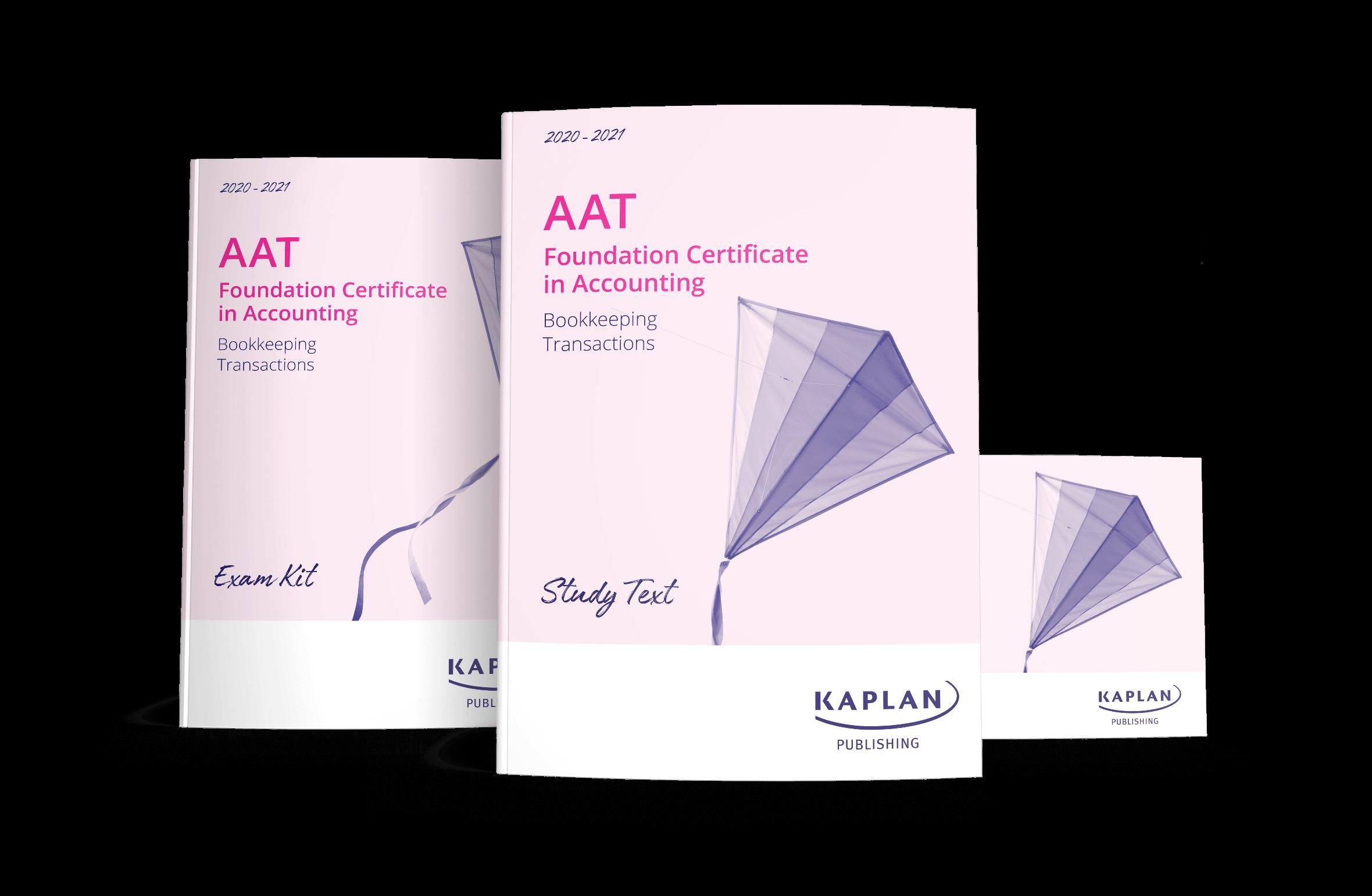 AAT Foundation Bookkeeping Transactions | Kaplan Publishing
