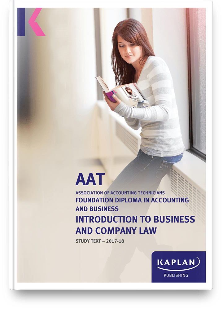 study-text-AAT-foundation-diploma-introduction-to-business-and-company-law