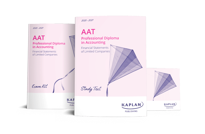 AAT Professional Diploma in Accounting - Financial Statements of Limited Companies (FSLC) - Essentials Pack