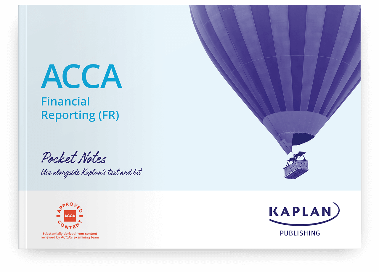 ACCA Financial Reporting (FR) Mock Exam 2019