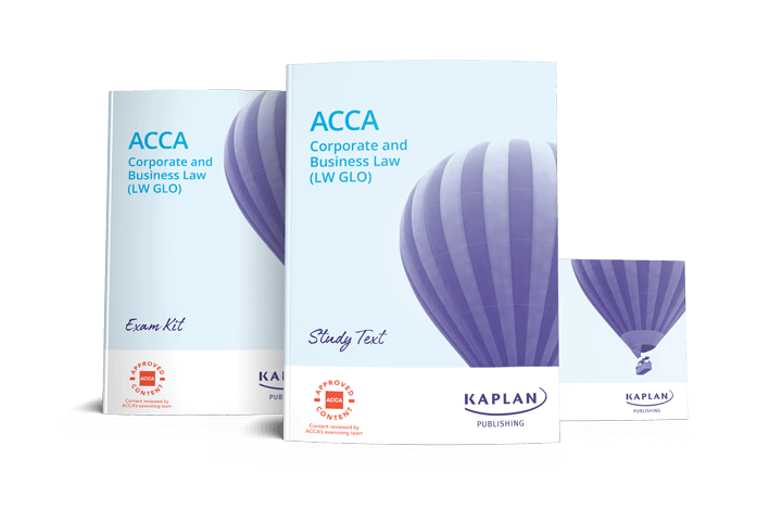 ACCA Fundamentals - Corporate and Business Law - Global (LW) - Essentials Pack