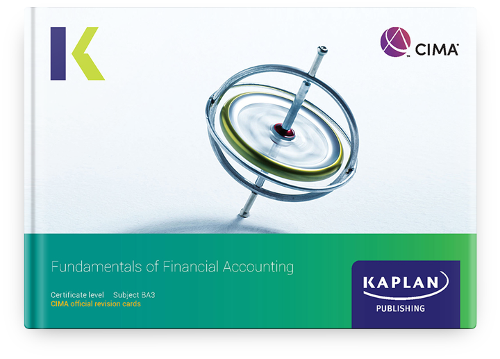 CIMA Certificate - Fundamentals of Financial Accounting (BA3) - Revision Cards