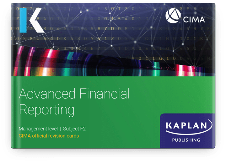 CIMA Professional Management Advanced Financial Reporting (F2) Revision Cards