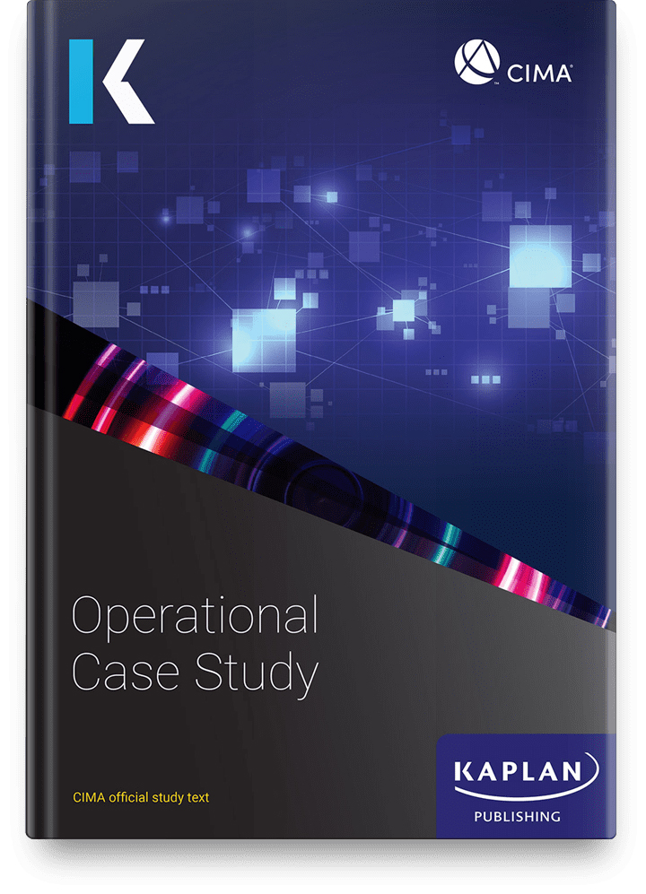 CIMA Professional Operational Case Study Text